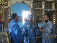 Архиерейское богослужение в г. Асино