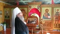 Митрополит Ростислав посетил новый храм в с. Мало-Жирово