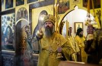 Митрополит Ростислав принял участие в праздновании пятилетия Колпашевской епархии.