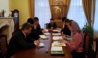 Руководители отделов Томской епархии обсудили планы мероприятий на предстоящий квартал.