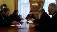 Состоялось собрание благочинных Томской епархии.