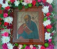 Храм апостола и евангелиста Иоанна Богослова отметил престольный праздник