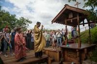 На месте летней кельи старца Феодора Томского освятят ключ
