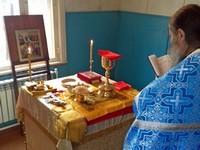 В Покровском приходе с.Басандайка совершена первая Литургия