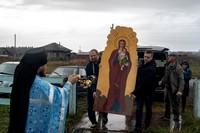Историческое событие Кожевнического района: возвращение Богородичной иконы в возрождённый храм