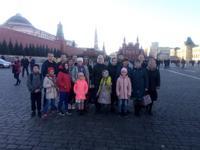 Дети из Тегульдетского района побывали с паломнической поездкой в Москве