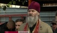 """На ТК """"Томское время"""" вышел репортаж про помощь бездомным при поддержке Томской епархии."""