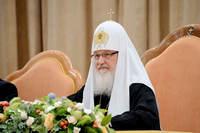 """Святейший Патриарх Кирилл: """"Если церковные журналисты не свидетельствуют о Христе, то нет смысла присутствовать в информационном пространстве"""""""