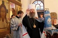 В день престольного праздника в Казанском храме Богородице-Алексиевского монастыря прошли торжественные богослужения