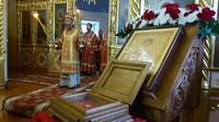 Престольный праздник отметили в южном приделе Свято-Троицкой церкви г. Томска