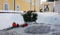 В Воскресенской церкви почтили память томского мецената Васильева, подарившего городу Царь-колокол