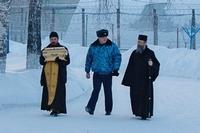 Митрополит Ростислав посетил Томскую воспитательную колонию № 2