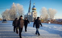 В преддверии Дня памяти иерея Даниила Сысоева томские миссионеры посетили село Тегульдет