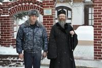 Митрополит Ростислав посетил Томскую исправительную колонию № 4