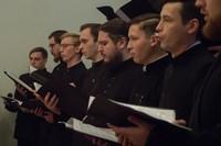 Хор ТДС исполнил песнопения на мероприятии, посвященном юбилею семинарии
