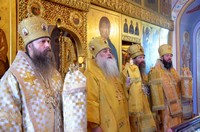 Юбилейные торжества ТДС увенчались соборным архиерейским богослужением