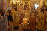 В Богоявленском соборе почтили память всех прежде почивших ректоров и преподавателей ТДС