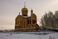 Престольный праздник отметил храм в с.  Новониколаевка