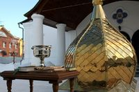 Освящён новый главный купол Андреевского храма