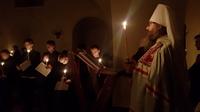 Митрополит Ростислав совершил малое повечерие с чтением канона предпразднства Рождества Христова