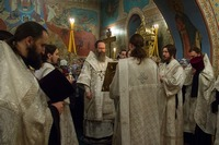 Томичи поблагодарили Господа за уходящий год и попросили благословение на грядущий
