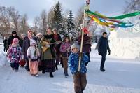 Христославы поделились рождественской радостью с томичами