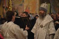 В Рождественскую ночь архипастырь возглавил богослужение в Богоявленском соборе