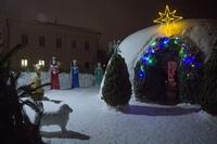 Рождественские снежные вертепы Томска – дар Богомладенцу Христу
