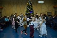 Ученики начальных классов приняли участие в творческом вечере, посвященном Рождеству Христову