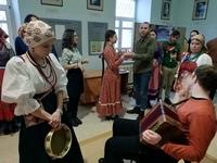 В актовом зале Томской духовной семинарии прошла «Рождественская вечёрка»