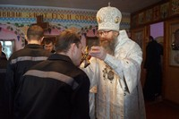 Митрополит Ростислав посетил Томскую исправительную колонию № 3