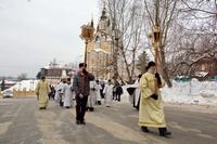 Традиционный крещенский крестный ход прошёл в Томске