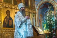 Митрополит Ростислав: «Употреблять крещенскую воду нужно с благоговением и молитвой»