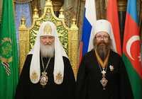 Предстоятель Русской Церкви вручил главе Томской митрополии высокую церковную награду