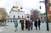 Томская православная молодёжь посетила Бутовский полигон и другие святые места столицы