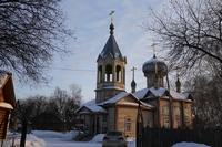 В праздник Сретения Господня митрополит Ростислав возглавил литургию в храме села Первомайского