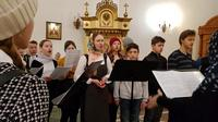 Молодёжный клуб принял участие в Божественной литургии в северском храме