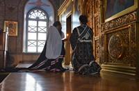 Митрополит Ростислав возглавил вечерню с чином прощения в Богоявленском кафедральном соборе