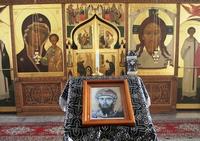 Митрополит Ростислав совершил литургию Преждеосвященных Даров в Богородице-Алексиевском монастыре