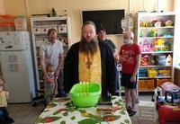 Представитель Томской епархии посетил пациентов Отделения детской гематологии