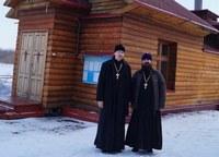 Священник Томской епархии посетил кемеровский реабилитационный центр для людей с наркотической и алкогольной зависимостями