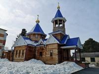 Митрополит Ростислав возглавил богослужение в храме Успения Пресвятой Богородицы д. Лоскутово