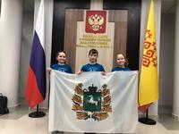 Маленькие финалистки Томской области приняли участие в XV Открытой всероссийской интеллектуальной олимпиаде «Наше наследие»