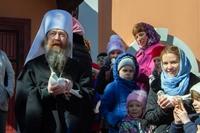 Томск встретил праздник Благовещения Пресвятой Богородицы