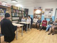 Руководитель ОРОиК Томской епархии рассказал педагогам гимназии о Великом посте и Пасхе