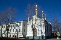 Глава Томской митрополии возглавил богослужение Великого Понедельника в Александро-Невском храме