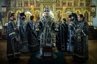 Расписание богослужений митрополита Ростислава в дни Страстной седмицы