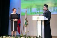 Глава Томской митрополии поздравил томских депутатов с 25-летием Законодательной Думы области