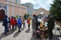 В Богоявленском соборе прошло праздничное мероприятие для детей из села Зырянского