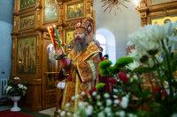 Глава Томской митрополии возглавил торжественное богослужение в Светлый вторник в Знаменском храме